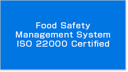 Food Safety Management System ISO 22000 Certified
